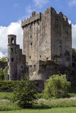 奉承城堡-黄柏-爱尔兰 免版税库存照片