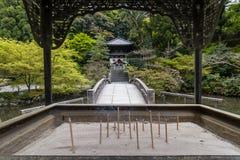 奉献的香火棍子在点燃了Chion在寺庙在京都 免版税库存图片