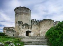 奎利亚尔城堡 库存照片
