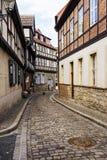 奎德林堡,德国 图库摄影