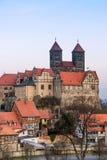 奎德林堡,德国 免版税库存照片
