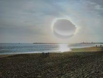 奎隆海滩 库存图片