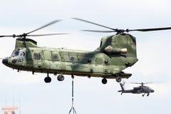 契努克族直升机 图库摄影