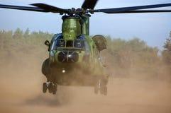 契努克族直升机 免版税图库摄影