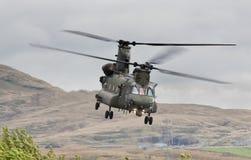 契努克族直升机 库存照片