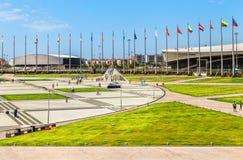 索契奥林匹克公园 俄国 免版税库存照片