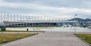 索契奥林匹克公园 爱德乐竞技场 俄国 图库摄影