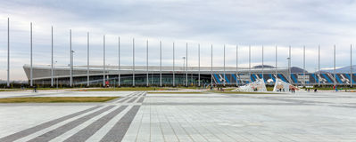 索契奥林匹克公园 爱德乐竞技场 俄国 免版税图库摄影