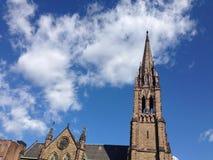 契约的教会在波士顿 库存照片