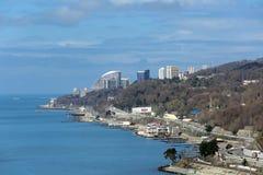 索契都市风景 免版税库存图片