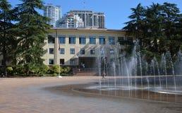 索契,俄罗斯的城市管理 库存照片