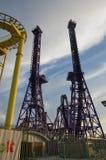 索契,俄罗斯- 2014年5月21日:索契公园-主题乐园 免版税图库摄影