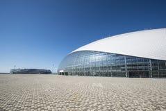 索契,俄罗斯- 7月6 :Bolshoy 2016年6月06日的冰圆顶世界唱诗班比赛的 库存照片