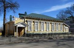奔萨 19世纪的住宅房子 图库摄影