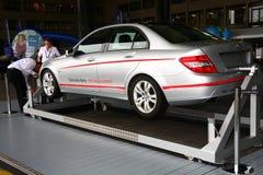 奔驰车和朋友柏林2011年 免版税库存图片