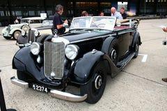 奔驰车和朋友柏林2011年 免版税库存照片