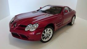 奔驰车迈凯轮SLR模型汽车 库存图片