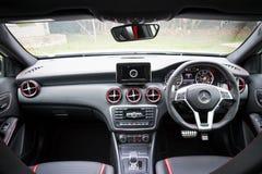 奔驰车45个AMG内部 免版税库存图片
