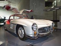 1955年奔驰车300 SL小轿车Gullwing 免版税图库摄影