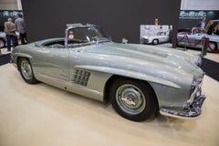 1957年奔驰车300SL跑车经典之作汽车 免版税库存照片