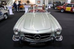 1957年奔驰车300 SL跑车经典之作汽车 库存图片