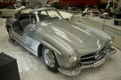 奔驰车300 SL -博物馆辛斯海姆 免版税库存图片