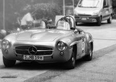 奔驰车190 SL 1955年 库存图片
