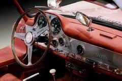 奔驰车300 SL 1955豪华汽车 库存照片