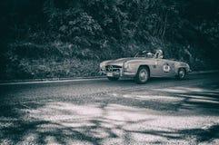奔驰车190 SL 1956年 库存图片