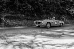 奔驰车190 SL 1956年 免版税库存图片
