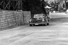 奔驰车190 SL 1956年 图库摄影