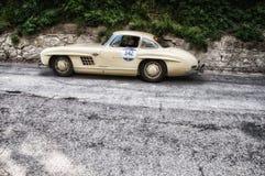 奔驰车300 SL COUPÃ ‰ W 198 1954年 库存图片