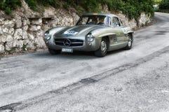 奔驰车300 SL COUPÃ ‰ W 198 1955年 库存图片