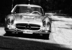 奔驰车300 SL COUPÃ ‰ W 198 1955年 免版税库存照片