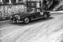 奔驰车300 SL COUPÃ ‰ W 198 1956年 免版税库存图片
