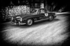 奔驰车300 SL COUPÃ ‰ W 198 1956年 免版税图库摄影