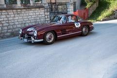 奔驰车300 SL COUPÃ ‰ W 198 1956年 库存图片