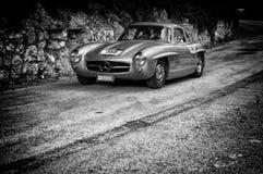 奔驰车300 SL COUPÃ ‰ W 198 1955年 图库摄影