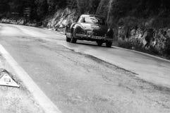 奔驰车300 SL COUPÃ ‰ W 198 1957年 免版税库存图片