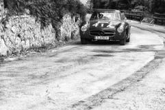 奔驰车300 SL COUPÃ ‰ W 198 1957年 库存照片