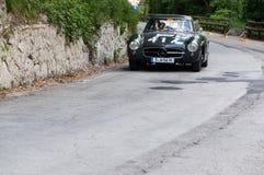 奔驰车300 SL COUPÃ ‰ W 198 1957年 图库摄影