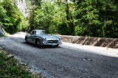 奔驰车300 SL COUPÃ ‰ W 198 1955年 库存照片