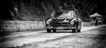 奔驰车300 SL COUPÃ ‰ W 198 1955年 免版税库存图片