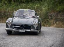 奔驰车300 SL Coupé W 198 1955年 库存图片