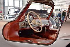 奔驰车300 SL Gullwing 1954年 免版税库存照片