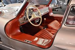 奔驰车300 SL Gullwing 1954年 免版税库存图片