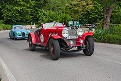 奔驰车710 SS在Mille Miglia 2013年 免版税库存照片