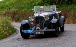 奔驰车720 SSK 1929年 库存照片