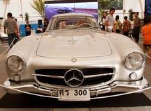 奔驰车300 SL,葡萄酒汽车 免版税图库摄影