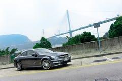 奔驰车C63 AMG 库存图片